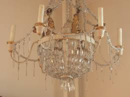 Cut Glass Chandeliers Thursdays Antiques Fine 18th 19th And Turn Of The Century French