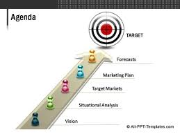powerpoint marketing plan template for evaluating 2 sides