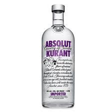lychee vodka absolut vodka kurrant bottles