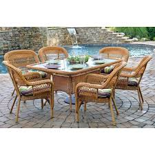 Southwest Outdoor Furniture by Tortuga Outdoor Psd66 Portside 7 Piece Dining Set Homeclick Com