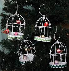 birdcage tree ornaments craft tutorial mitzi s miscellany