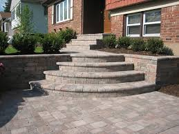 Unilock Suppliers Paver Steps Unilock Tumbled Brussels Block Paver Steps