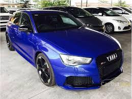 audi rs3 blue audi rs3 2015 sportback 2 5 in selangor automatic hatchback blue