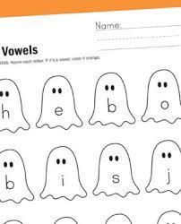 vowels worksheets for kids learning printables kindergarten vowel