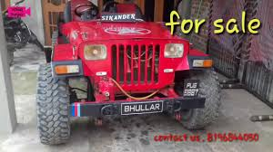 open jeep in dabwali for sale willy jeep for sale toyota 2c fully power youtube