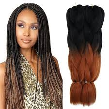hairstyles with xpression braids ombre braiding hair bulks 24 100gram three toneblack blue light