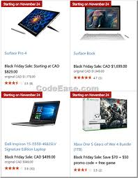 microsoft surface pro black friday deals microsoft store canada black friday 2016 deals u2013 codeease com