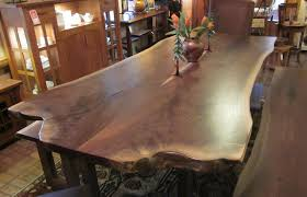 live edge table top devmode walnut live edge dining table