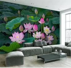 3d Wallpaper For Living Room by Online Get Cheap Summer Flowers Wallpaper Aliexpress Com