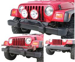 jeep wrangler tj light bar olympic 4x4 products light bars front bumper auxiliary light