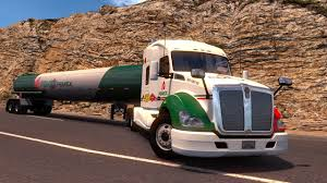 kenworth california ats kenworth t680 con gasolina pemex ensenada mexicali baja