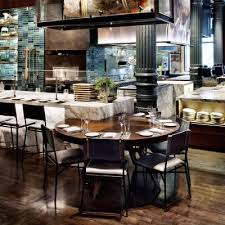 Restaurant Kitchen Table by Chefs Club Rockwell Group