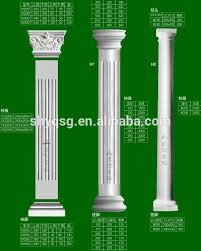 Pillars And Columns For Decorating House Inside Outside Decor Gypsum Plaster Grc Concrete Cement