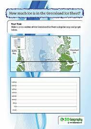 glacier worksheets