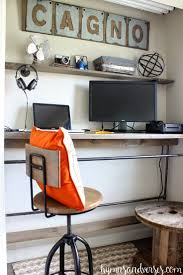 Diy Industrial Desk by 147 Best An Industrial Home Decor Revolution Images On Pinterest