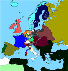 Map Of Vienna Map Of Europe After The Congress Of Vienna 1815 The Congress