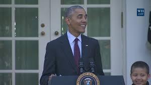 national thanksgiving turkey president obama pardons the national thanksgiving youtube