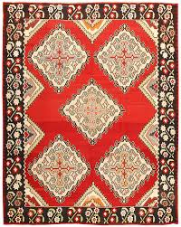 beautiful red vintage turkish kilim rug 50381 by nazmiyal