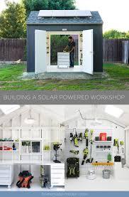 homemade modern ep115 building a solar powered workshop