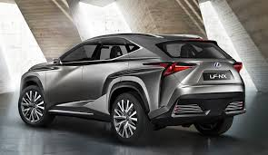 lexus nx recall uk lexus nx suv previewed by radical concept photos 1 of 5