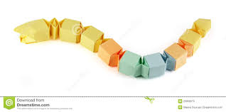 Origami Snake - origami paper snake stock illustration illustration of paper