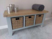 hall storage benches hallway furniture ebay