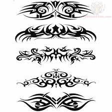 lowerback tribal tattoos design