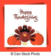 clip vector of autumn harvest celebration thanksgiving poster