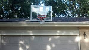having a roof mount basketball hoop is the best choice for those