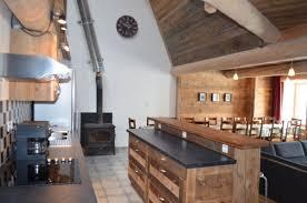 cuisine grange location appartement dans ferme ancienne grange des tchapin