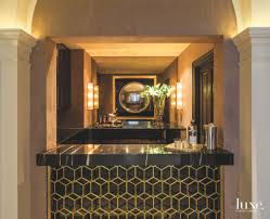 classic and art deco styles merge in a dallas manor luxe
