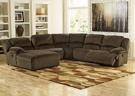 Sectional Sofas With Recliners And Chaise Hornell Furniture Outlet Toletta Chocolate Left Facing Chaise End