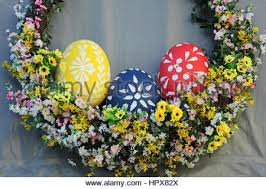 easter egg sale easter eggs on sale in a uk supermarket stock photo royalty free