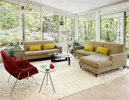 living room decoration sets grey brown velvet sofa having cushion cream living room wall small