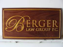 carved and sandblasted wood signs and plaques by signworks