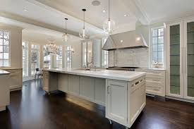 Modern Pendant Lighting For Kitchen Island Kitchen Black Kitchen Cabinet With Built In Refrigerator And Ovens