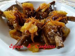 cuisiner manchons de canard manchons de canard à l orange epices confettis