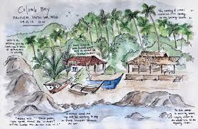 featured a sketch from colomb bay goa