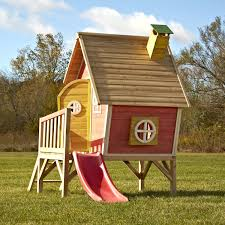 sensational kids playhouse from wooden design inspiration identify