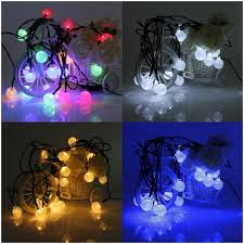 led fairy string lights cristal balls 20 led fairy string party decoration lights