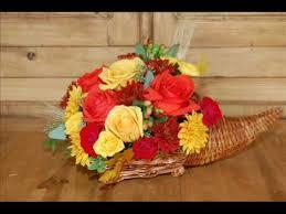 cornucopia arrangements how to make a flower arrangement in a cornucopia