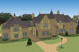 chateauesque house plans south classics le petit chateau