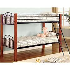 Wood Frame Bunk Beds Wood And Metal Bunk Bed Convertible Kitchen Dining