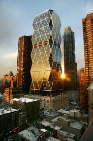 porsche design tower construction hearst tower nyc the uncommon triangular framing pattern also