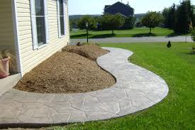 Stamped Concrete Patios Pictures by Stamped Concrete Walkway Decorative Concrete Walkway