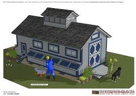 home garden plans l310 chicken coop plans construction