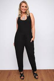 black sleeveless jumpsuit black sleeveless jumpsuit with floral lace back insert plus size
