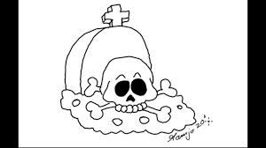 Easy Halloween Drawing by
