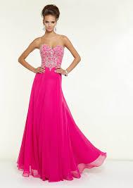 hot pink dress us 158 99 wholesale low back hot pink chiffon formal dress evening