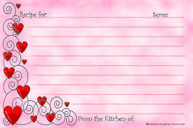 printable recipe cards 4 x 6 free printable recipe cards 4 x 6 inches feature a design with